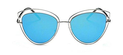 Rond Lunettes Métallique Cercle Glacier Inspirées Femmes Steampunk Retro de du Bleu Pour Soleil et en Style Hommes Polarisées BqTBrvPw