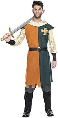 Disfraz de Caballero Medieval para hombre: Amazon.es ...