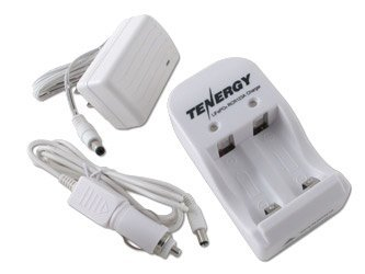 Tenergy Smart Charger for RCR123A 3.0V Lithium Iron Phosphate (LiFePO4) rechargeable Batteries (Not For Arlo Camera)