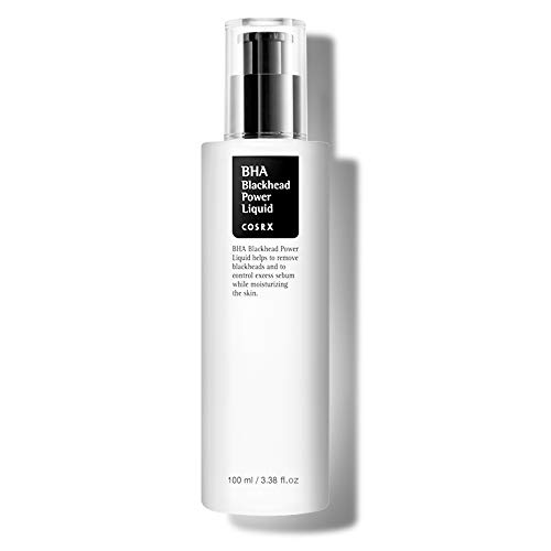 COSRX BHA 4% Blackhead Power Liquid 3.38 fl.oz | Facial Exfoliant | Blackhead Remover | Korean Skin Care, Vegan, Cruelty…