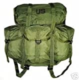 Military Field Pack, Combat, Nylon, Medium LC-2, Outdoor Stuffs