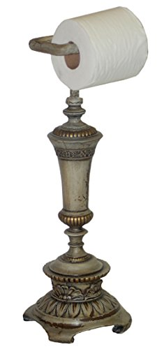 Hickory Manor House HM9815VA Standing Trophy Toilet Paper Holder, Verona