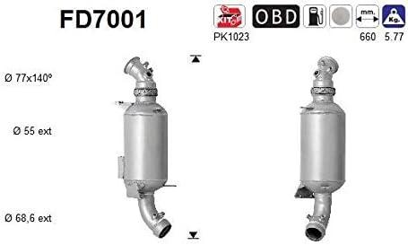 Ru/ß-//Partikelfilter Abgasanlage 1230-18996 Filter Abgasanlage