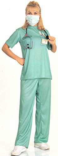 Rubie's Costume Co Adult Emergency Room Female Doctor Costume,Green,Standard]()
