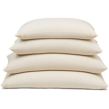 "ComfySleep Rectangular Buckwheat Hull Pillow - Classic Plus size (14"" x 26"") - Made in USA"