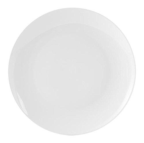 20.5 cm H/&H Sweden Piatto Dessert//Frutta Bianco Ceramica