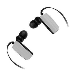 Mini Stereo Wireless Bluetooth Headset/ Headphones/ Handsfree for ZTE Blade Vec 3G (Grey) + MYNETDEALS Stylus