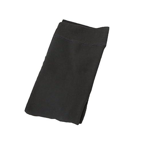 Collant Sans Pieds Hiver Femme En Coton Bio Avec Doublure En Velours Epais Extra Doux Et Chaud Leggings Pantalons Jambière Longue Thermique Anti-Froid (300g)
