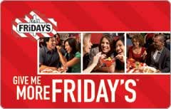 T.G.I Friday's Gift Card