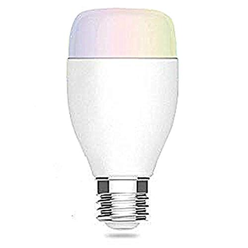 - Shaveh Smart LED Bulb 6W ,Turn ON/OFF Electronics from Anywhere, White, Multicolored LED Bulbs, 16 Million Colors controled by Phone, Compatible with Alexa(1 pack)