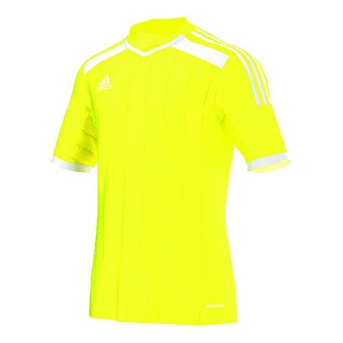 Adidas Regista 14 Mens Soccer Jersey L Solar Yellow-White