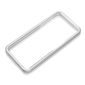 0f222f9c34 Amazon | PGA iPhone5対応 アルミバンパー シルバー PG-IP5BP01SV ...