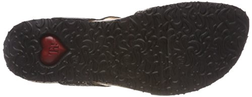Combination Think Womens Black Sandals Julia 82335 Leather aU4Yqa