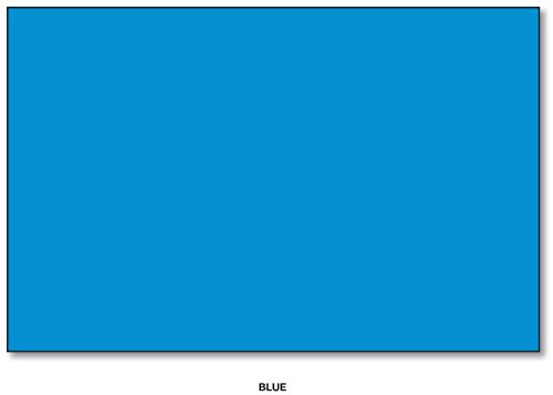 60lb Text Blue - Mohawk BriteHue Bright Color Paper, 24/60lb paper. Text 100 Sheets Per Pack (11 x 17, Blue)
