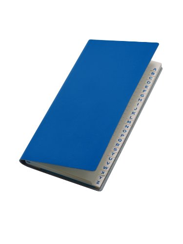 paperthinks-royal-blue-recycled-leather-long-address-book-3-x-65-inches-pt94065