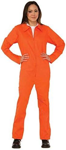 Amazon.com: Forum Novelties - Disfraz de prisionero naranja ...