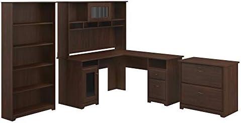 Bush Furniture Cabot L Desk