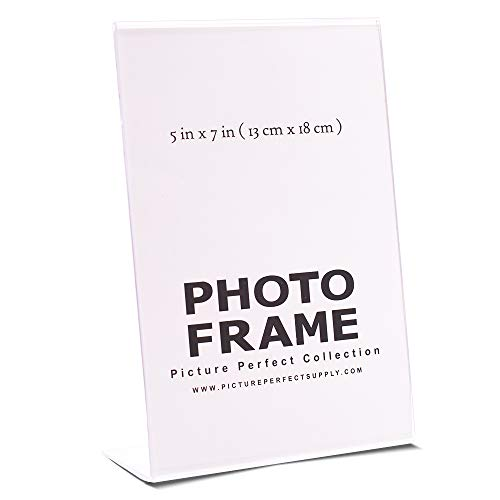 5x7 Picture Frames - Clear, Acrylic (Set of 12) ()