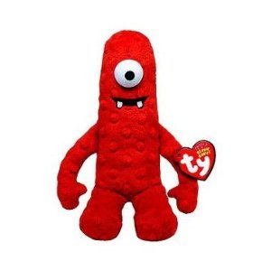 Ty Beanie Babies Yo Gabba Gabba Muno + Free Pack Of Yo Gabba Gabba Silly Bandz Bracelets (Shaped As The Popular Yo Gabba Gabba Characters)!!! (Yo Gabba Gabba Play Tent)