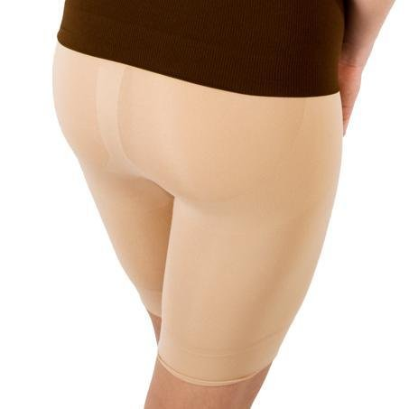 Nude Long Leg Shaper by Slimpressions Shapewear Large