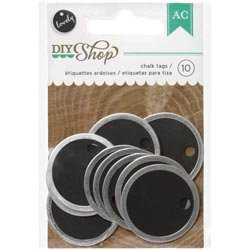 Bulk Buy: American Crafts  DIY Shop Metal Rimmed Tags 1.25in