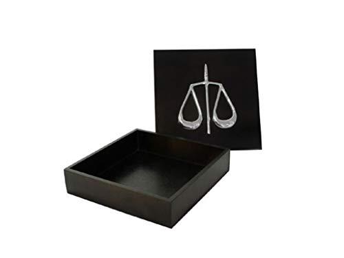 Caixa Decorativa Direito Escritório De Advocacia Sarquis Samara Preto
