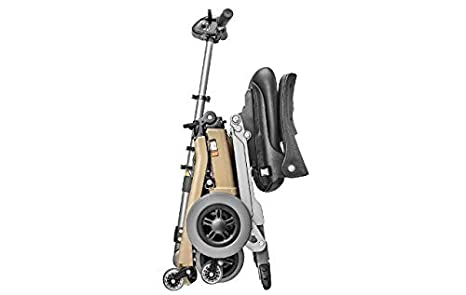 Amazon.com: Luggie Elite patinete Scooter plegable, FR168 ...