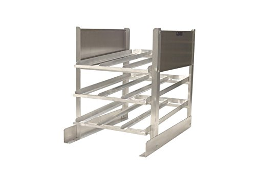 "PVIFS CR0540 Stationary Half Size Can Rack, 36"" Length x 25"" Width x 32"" Height"