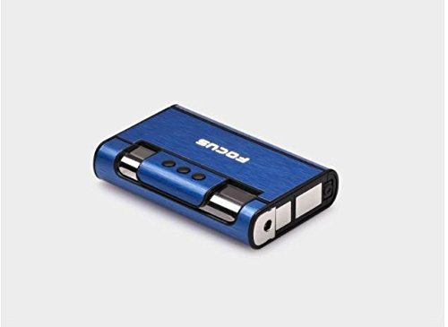 Boite Tempête Focus 8 Distributeur Briquet Bleu Boitier Étui Avec Cigarettes wCnRq7