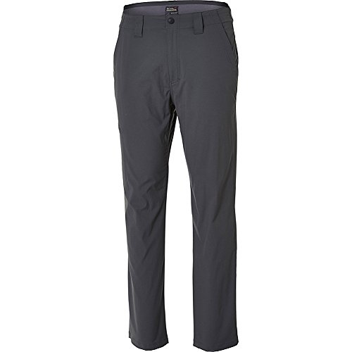 Royal Robbins Men's Everyday Traveler Pants, Charcoal, Size 36-32