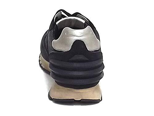 Homme Baskets Voile Blanche Noir Pour fpww5x7t