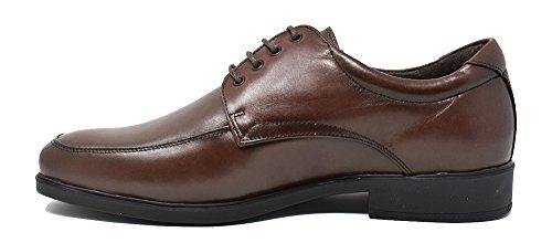 Tolino Zapato cómodo de hombre con cordones - Marrón - 7701
