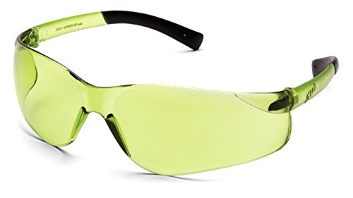 Pyramex S2514S Ztek Safety Glasses with IR 1.5 Pale Green - Lenses Green