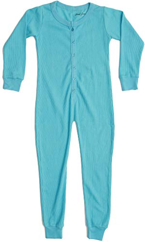 Just Love Thermal Union Suits for Girls 96363-BLU-7-8