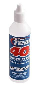 Team Associated 5423 40 Weight Silicone Shock Oil, 2-Ounce