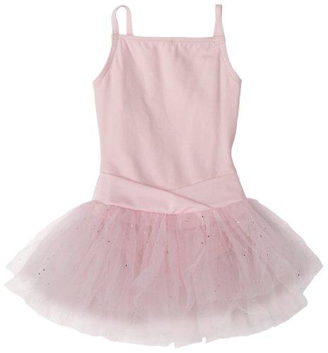 Capezio Big Girls' Camisole Tutu Dress,Pink,L (12-14)