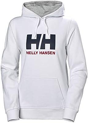 Helly Hansen W HH Logo Hoodie, Mujer, White, XS