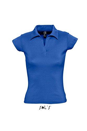 Ladies Polo Pretty 220 (fällt klein aus, bitte eine Nr. größer wählen) M,Royal Blue
