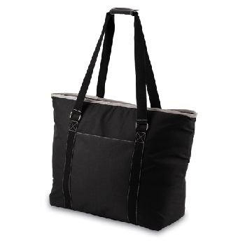 Picnic Time 'Tahoe' Extra Large Insulated Cooler Tote, Black