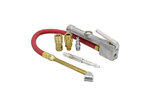 Milton (MK506-1) Pocket Blow Gun, Inflator Gauge, and M-Style KWIK-CHANGE Air Coupler & Plug Kit, (5-Piece) ()