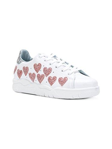 Pelle Bianco CF1915 Ferragni Sneakers Donna Chiara wqfZIR