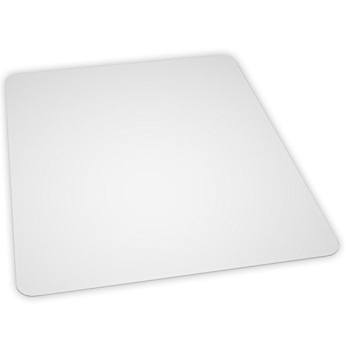 ES Robbins Everlife 60'' x 60'' Multitask Series Hard Floor Rectangle Chairmat, Clear by ES Robbins