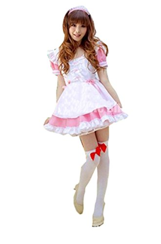 Pink  (Japanese Schoolgirl Sailor Uniform Cosplay Costume)