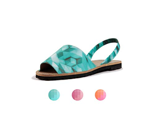 c734defee Subibaja Martina - Special Edition Menorquina Slingback Sandals for Women  (7 M US