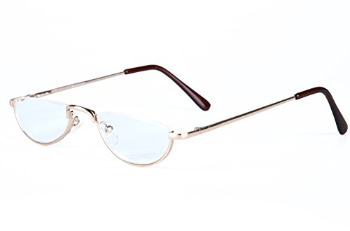 6aed6cafd6 6 · Agstum Half Moon Readers Spring Hinge Reading Glasses Single Vision  (+3.50