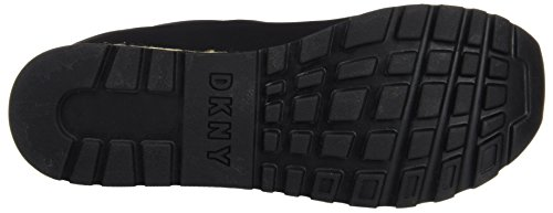 Dkny Damen Jade Espadrille Runner Low-top Schwarz