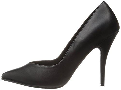 Pleaser Blk seduce Zapatos 420v Eu Leatherette De Material Sintético Tacón Mujer wfTrwq