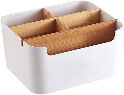 Amazon|Yontree リモコンラック 卓上小物入れ 多機能五格収納ボックス ...