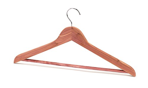 Woodlore Cedar Hangers - Aromatic Cedar Hangers - Set of 10