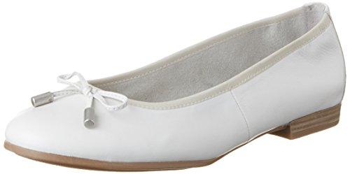 22112 Donna Ballerine White s Bianco 100 Oliver Oq1x775